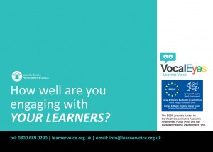 Association of Colleges conference 2012, Pembrokeshire College, VocalEyes