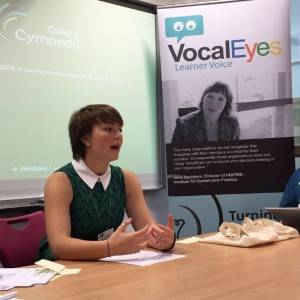 VocalEyes Digital Democracy with NUS