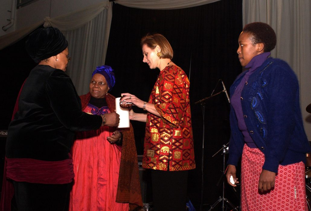 Candle ceremony at the first SAWID dialogue in 2003 where the candle was symbolically passed between different generations