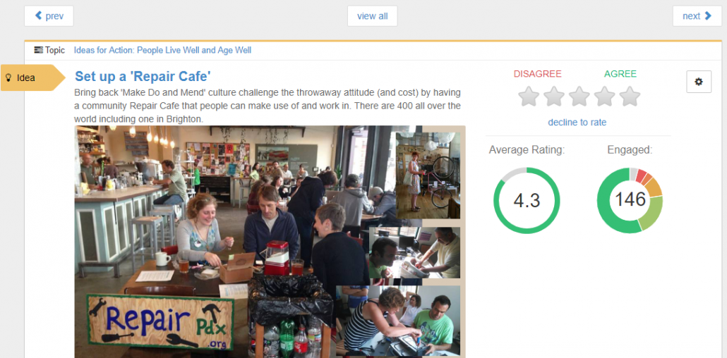 repair cafe on VocalEyes