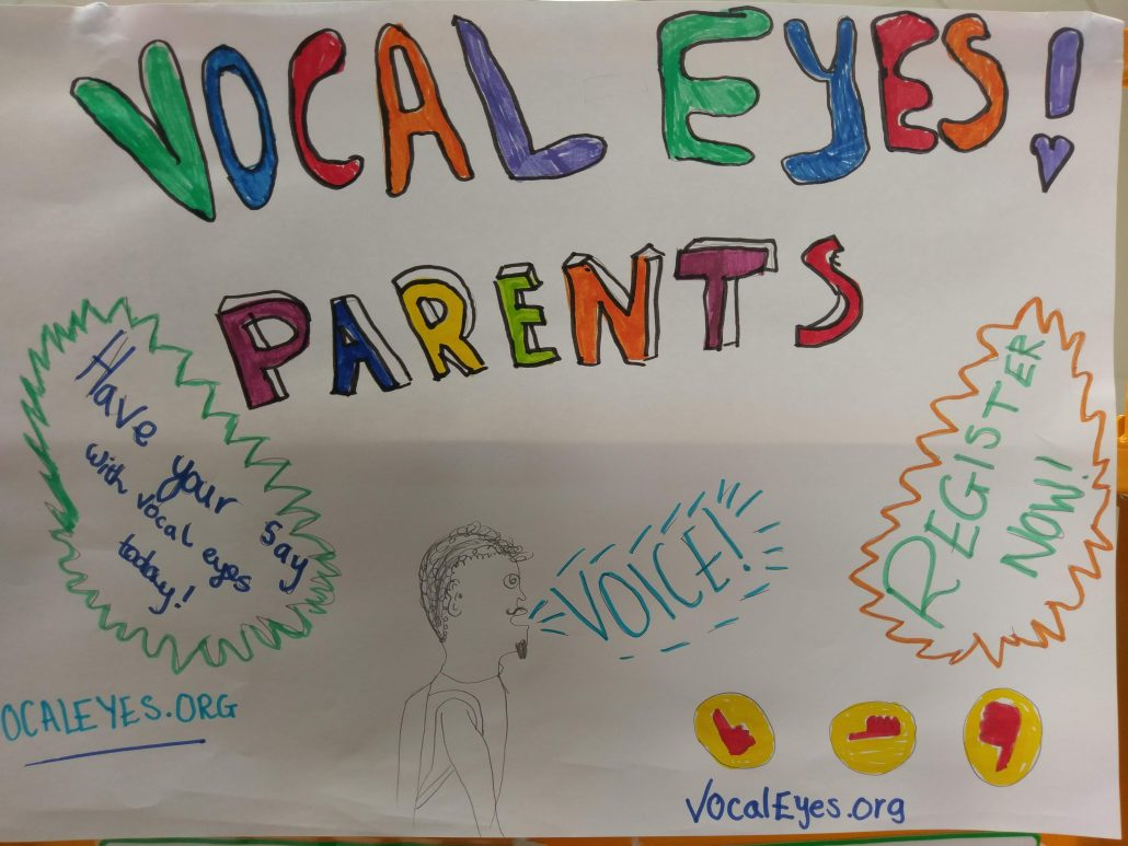 Parent Voice being launched at Burry Port Community Primary School using VocalEyes