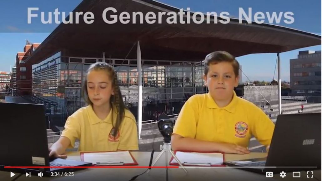 Future Generations News - Glyncollen Primary Going Plastic Free